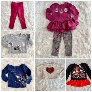 The Children's Place Shirts & Tops - 3t girls long sleeve/legging bundle